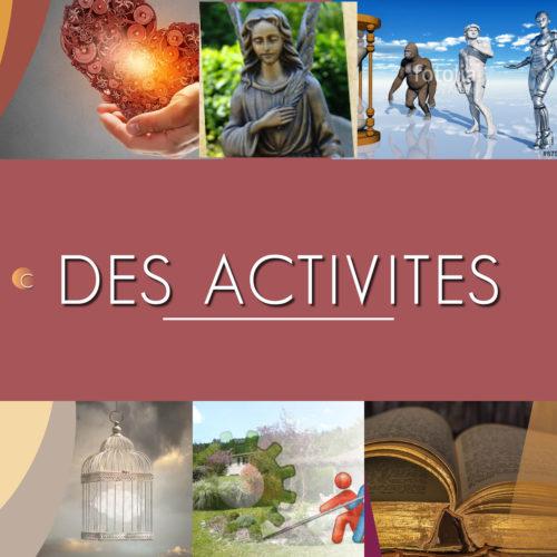 Le Centre de l'Aube – Des activités